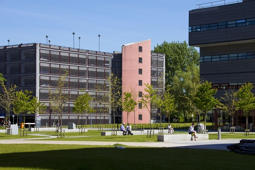 Picture of a University multistory car park